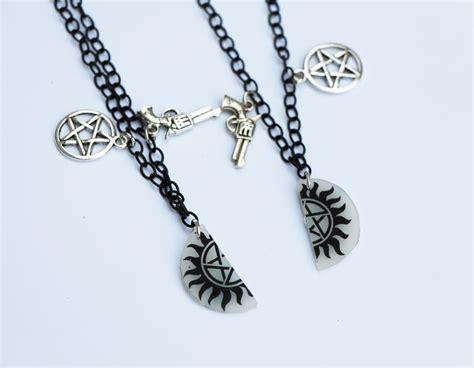 winchesters best friend necklaces 183 nerdy robots 183