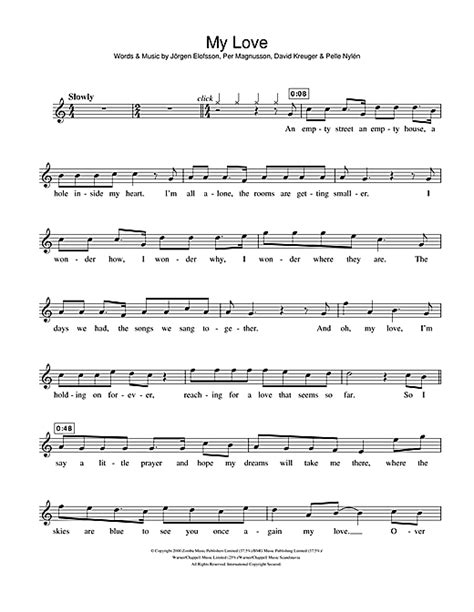 ed sheeran perfect westlife my love sheet music by westlife flute 106912