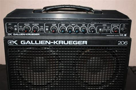 audio format gk gallien krueger 206mle image 32552 audiofanzine