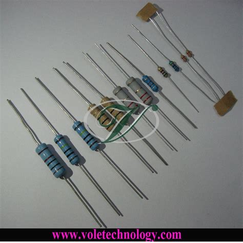 carbon resistor vs metal resistor china carbon metal resistor 1 6w 1 4w 1 2w 1w 2w 3w 4w 5w china carbon
