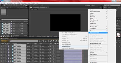 tutorial membuat video stop motion tutorial aftereffect cara cepat membuat effect stop