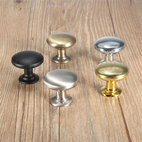 Kitchen Cabinet Door Knob 30mm Cupboard Kitchen Drawer Furniture Cabinet Door Knob Pull Handle Brass Ebay