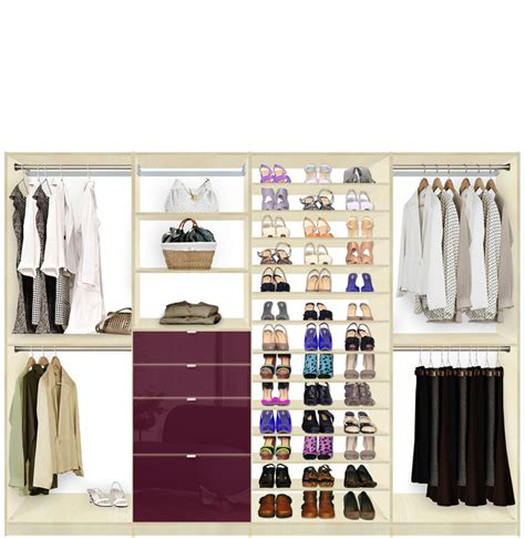 Closet Max by Isa Closet System Max Shoe Storage Shelves And Drawers