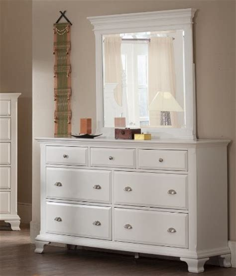 white bedroom dresser with mirror roundhill furniture laveno 012 white wood 7 drawer dresser