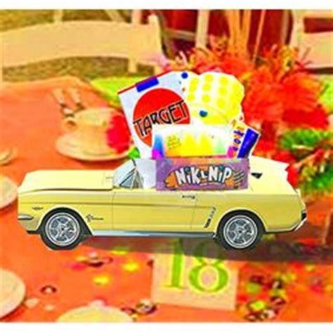 Classic Cruiser 64 1 2 Mustang Party Centerpiece Classic Car Centerpieces