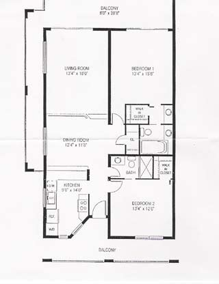 2 bedroom condo floor plans pelican cove beach condos floor plan