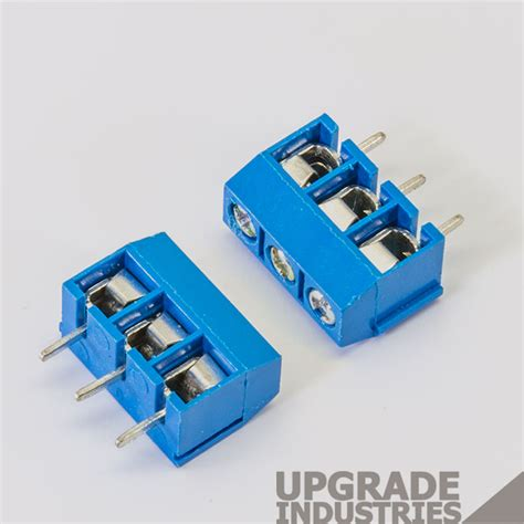 phillips terminal capacitors 10x 3 pin 5 08mm pitch pcb mount terminal block connector 3p 301 3p