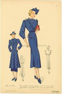 1930s fashion pictures advertisements