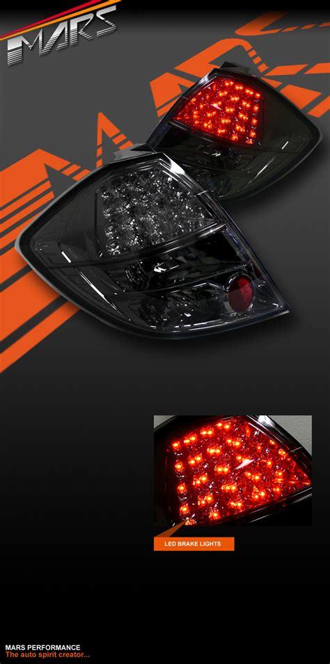 Led Jazz smoked black led lights for honda jazz fit ge 08 11