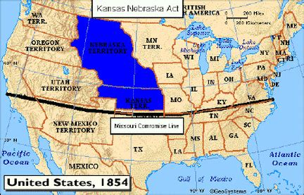 define sectionalism in history kansasnebraska act american nationalism and sectionalism