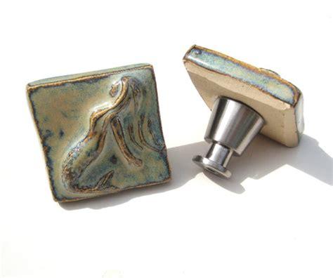Mermaid Drawer Pulls by Mermaid Tile Cabinet Knobs Drawer Pulls By