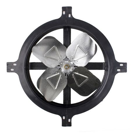 gable mount attic fan air vent 53316 gable mount power attic ventilator fan 1620