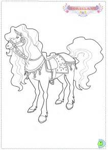sarah horseland colouring pages