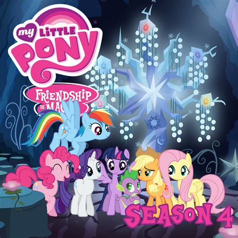 Set Anak 2 8y Mlp my pony season 4 itunes cover by drzurnphd on