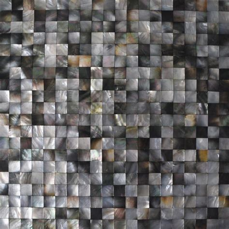 pearl mosaic bathroom tiles free shipping black mother of pearl tiles 20x20mm black