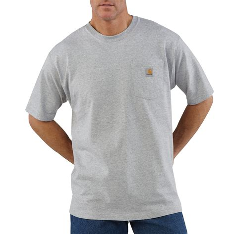 Carhartt T Shirts by S Workwear Pocket T Shirt K87 Carhartt