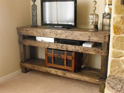Tv Console Table Entertainment Center For The Home Pinterest