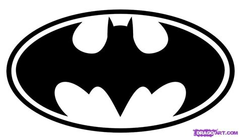 batman logo stencil cliparts co