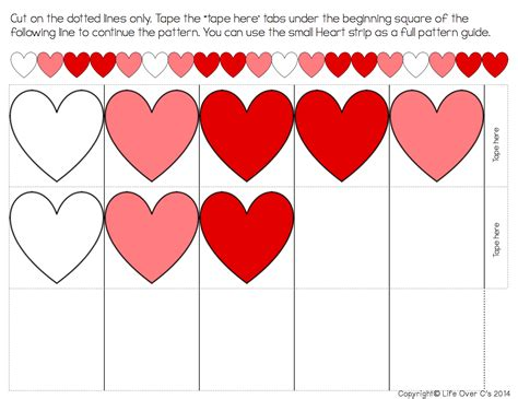 pattern heart free heart pattern free printable for valentine s day