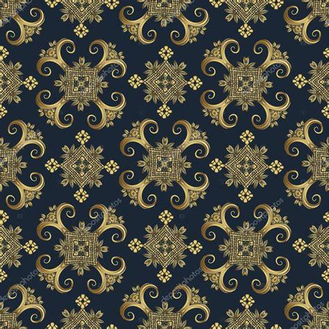 gold pattern textile golden seamless pattern vintage decorative elements