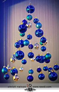 ideas for decorating ornaments blue decorations celebrations