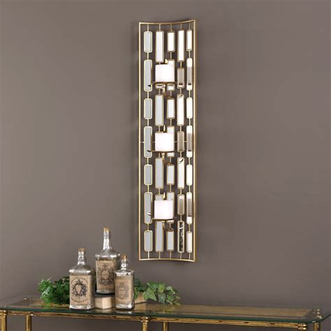 mirrored candle wall sconce uttermost loire mirrored candle wall sconce candle