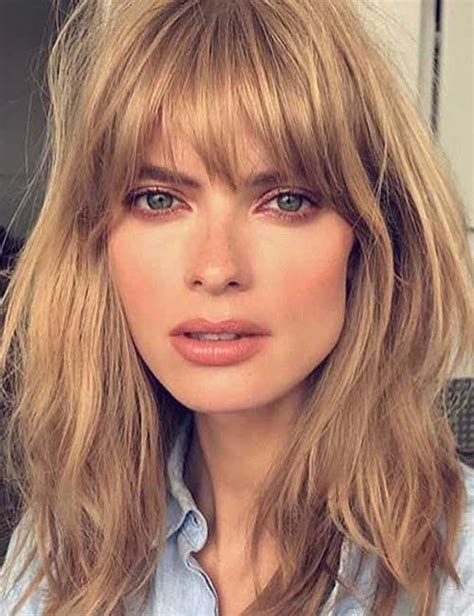 long hairstyles with bangs and frosted front long layered haircuts with front bangs haircuts models ideas