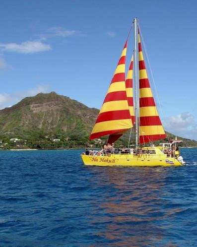 catamaran boat ride hawaii na hoku ii catamaran cruises