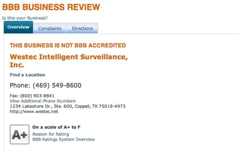 westec intelligent surveillance reviews real customer
