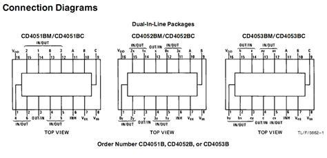 Analog Multiplexer Cd4053 Mux 4053 cd4053 china mainland integrated circuits