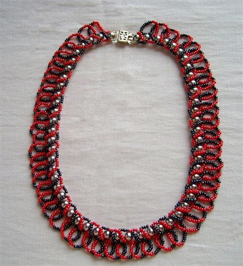 Handmade Jewelry Designs Patterns - free pattern for necklace casino magic free