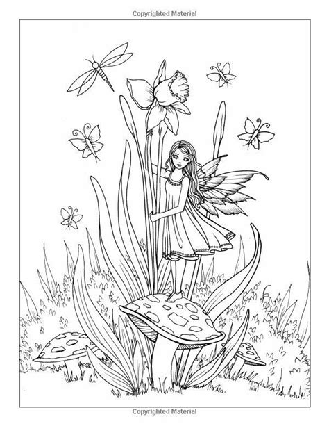wood fairy coloring page 4119 best fairy s fansty coloring pages or also use for