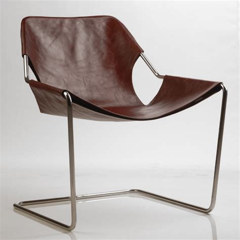 Paulistano Armchair by Paulistano Leather Armchair By Paulo Mendes Da Rocha For