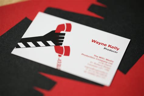 motion graphics business card template business card format titles gallery card design