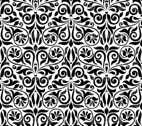 ornamental seamless pattern vector seamless damask pattern ornamental classic wallpaper