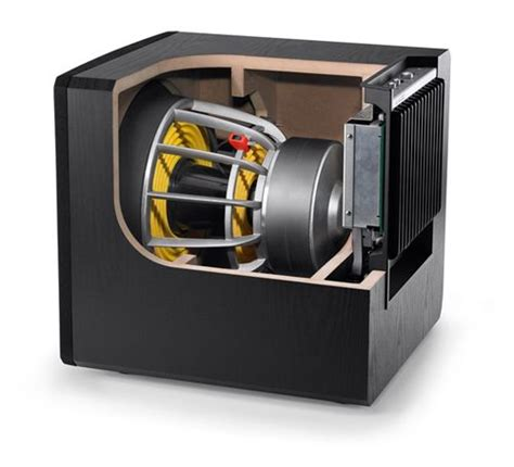 jl audio    powered subwoofer  components