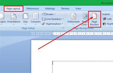 membuat border atau bingkai halaman di word 2010 cara membuat border atau bingkai di ms word espada blog