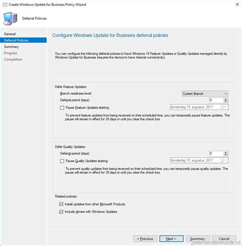 Just An Update On A Wwyd Post by Windows Update For Business More Than Just Configmgr