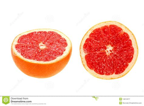 grapefruit sections two cross section of grapefruit stock image image 14614377