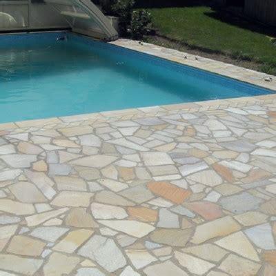 terrasse quartzite pierre naturelle quartzite opus am 233 nagement ext 233 rieur