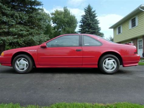 small engine maintenance and repair 1992 ford thunderbird navigation system sell used 1993 ford thunderbird lx 2 door bill elliott v8 super coupe special edition in dryden