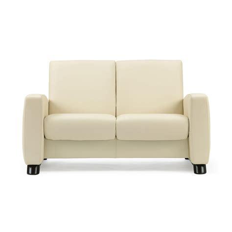 stressless sofa  sitzer arion  niedrig vanillaschwarz