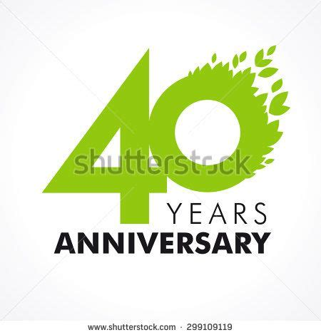 anniversary logo template 39 best images about 40th anniversary logos on