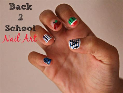 color my nails school back to school nail the experimental