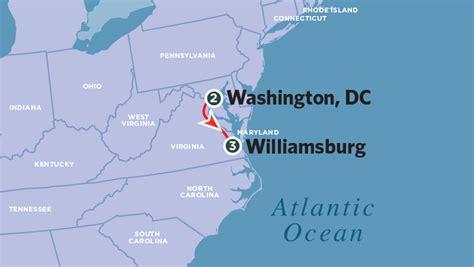 washington dc tax map washington dc and williamsburg family adventure amtrak