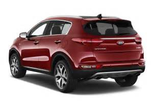 Kia Crossovers 2017 Kia Sportage Crossover Makes U S Debut In Los Angeles