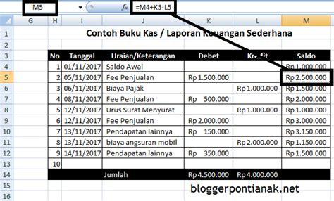 membuat neraca keuangan sederhana cara mudah membuat laporan keuangan sederhana dengan excel