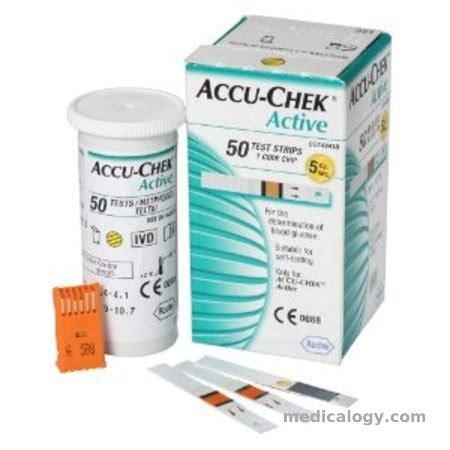 Jual Gula Darah Accu Chek Active jual accu chek active cek gula darah isi 50 murah