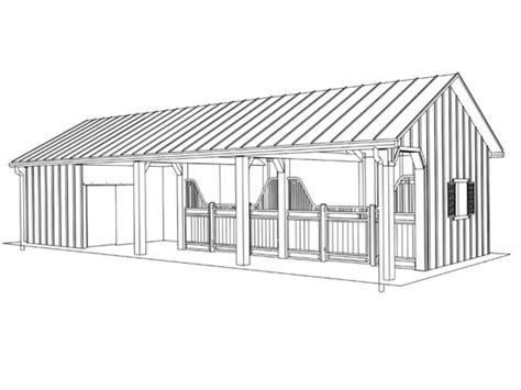 Triton Sheds by Barns Triton Barn Solid Wall Aisle