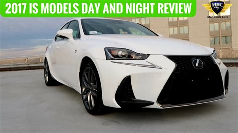 lexus models 2017 lexus is models